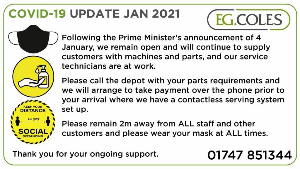 Covid Update January 2021