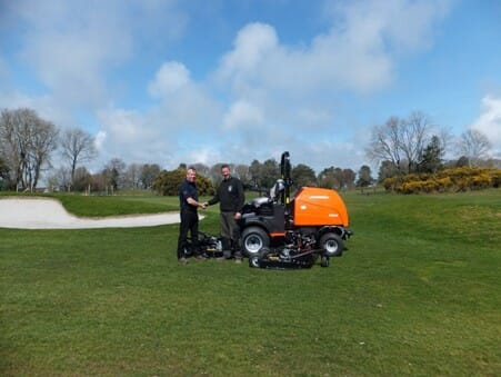 Lyme Regis Golf Club Jacobsen Delivery