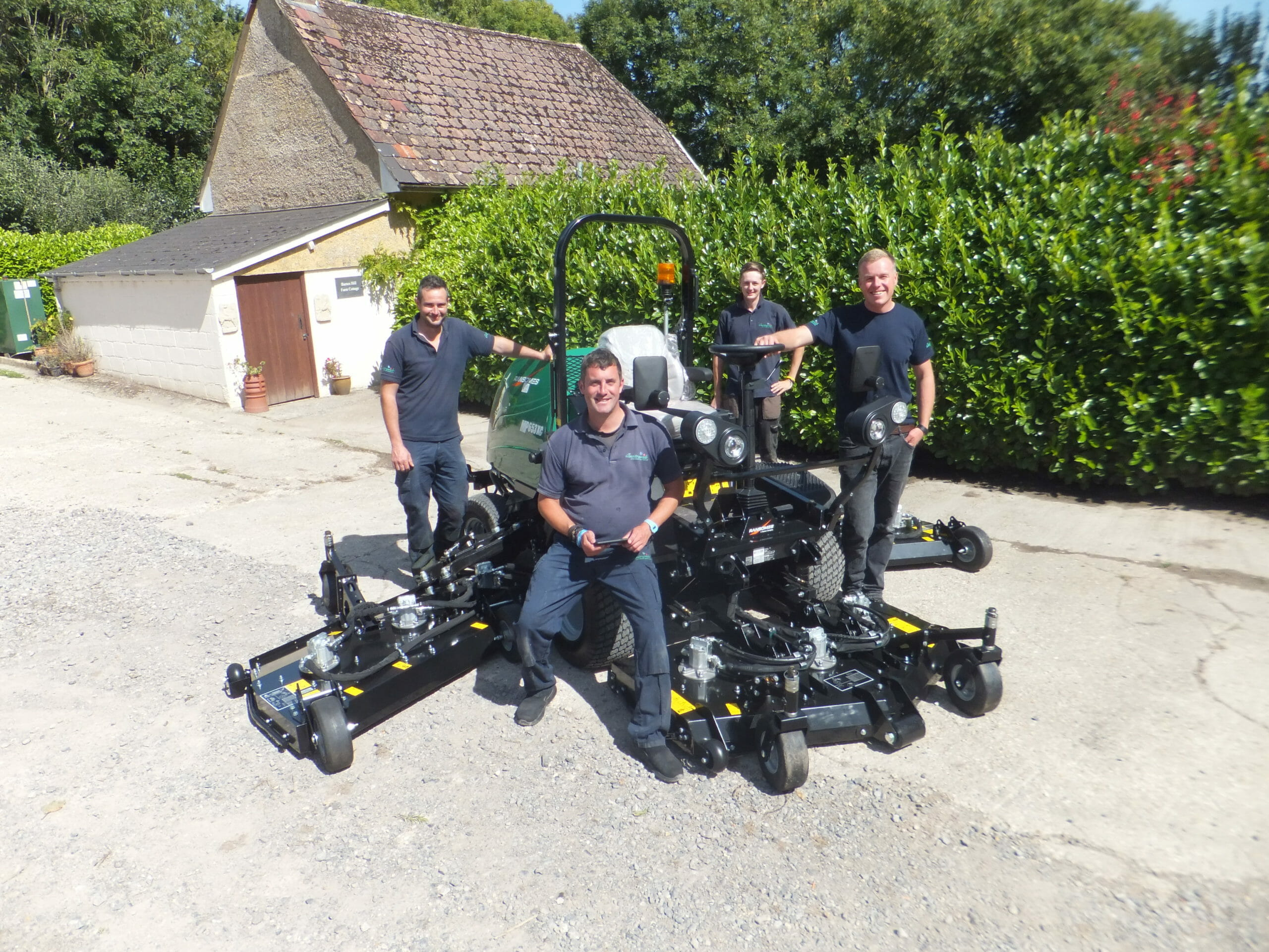 Ransomes MP653 Delivery
