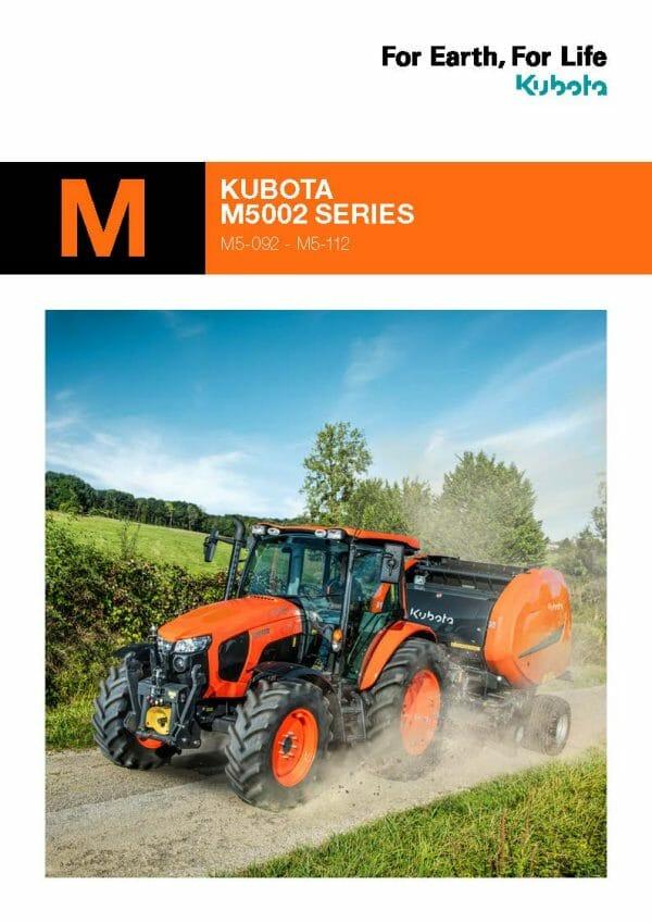 EG Coles M5002 Brochure Cover Kubota