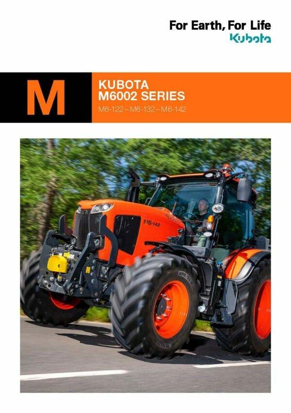 EG Coles Kubota M6002 Brochure