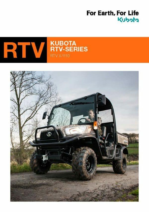 EG Coles Kubota RTV Brochure
