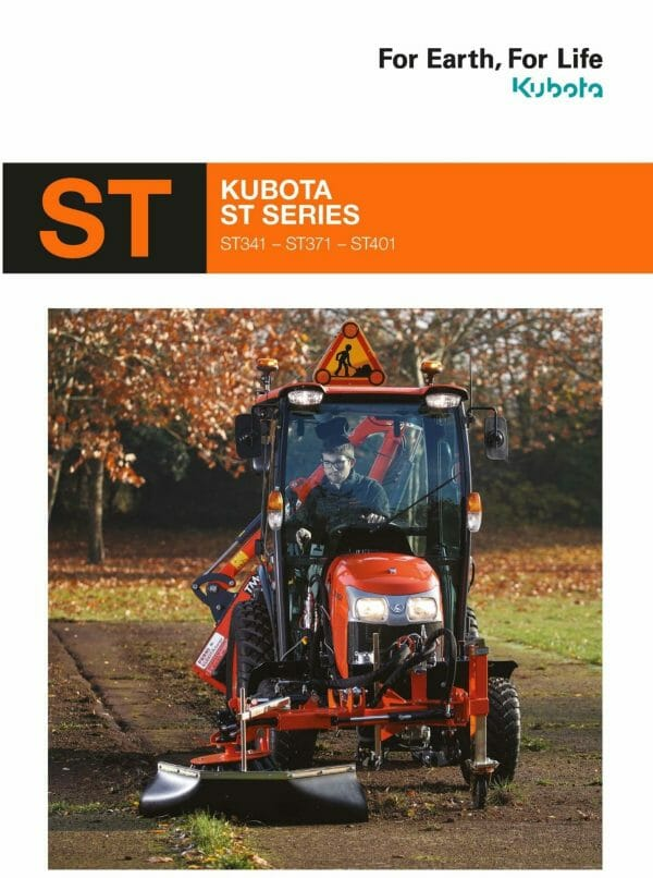 EG Coles Kubota ST Series Brochure