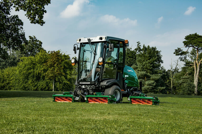 EG Coles Ransomes MP495 and MP655