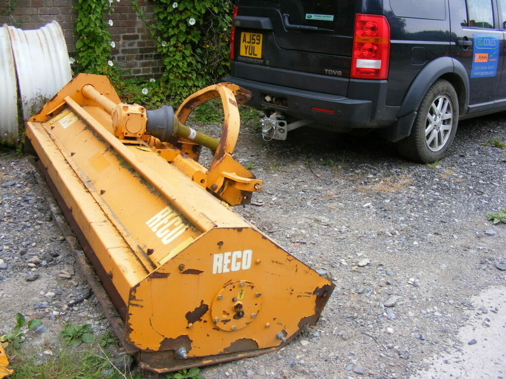 EG Coles - Used Reco Flail Mower