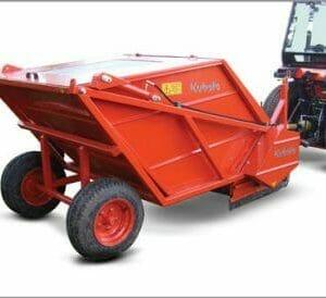 EG Coles Kubota Sweeper Collector